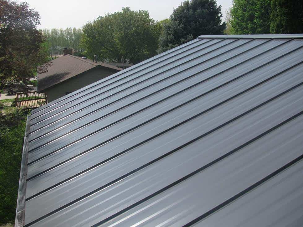 Metal Roofing Panels : Snap lock standing seam hidden fastener panels