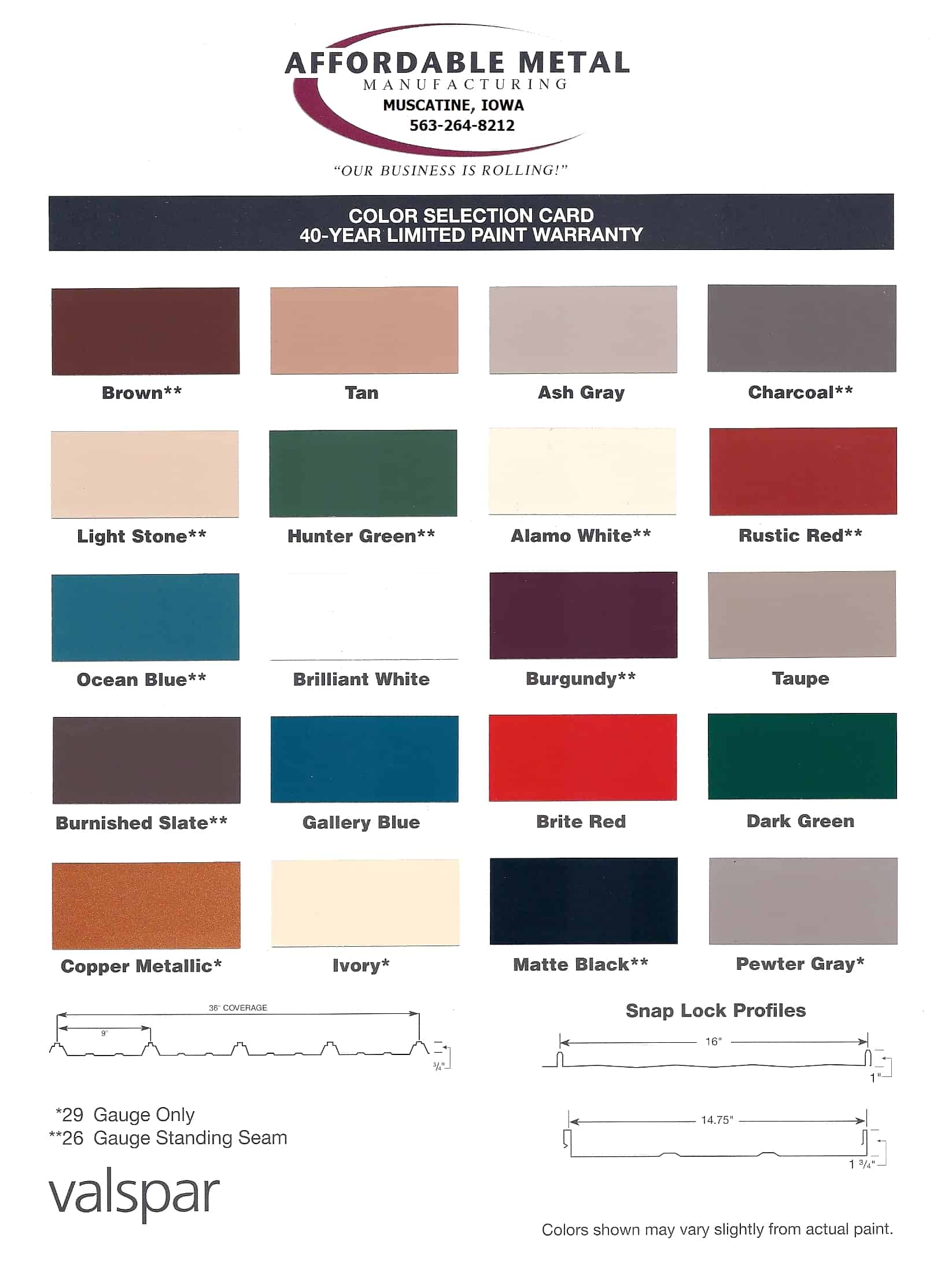 Snap lock standing seam hidden fastener panels affordable see stock color chart nvjuhfo Images